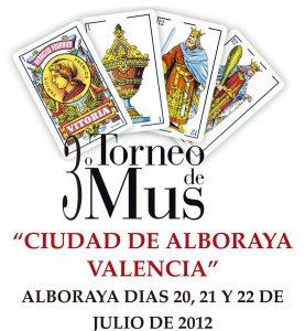"""Torneo de Mus """"Ciudad de Alboraya"""""""