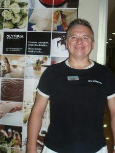 Nuestro masajista Agustín