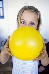 hinchar globo